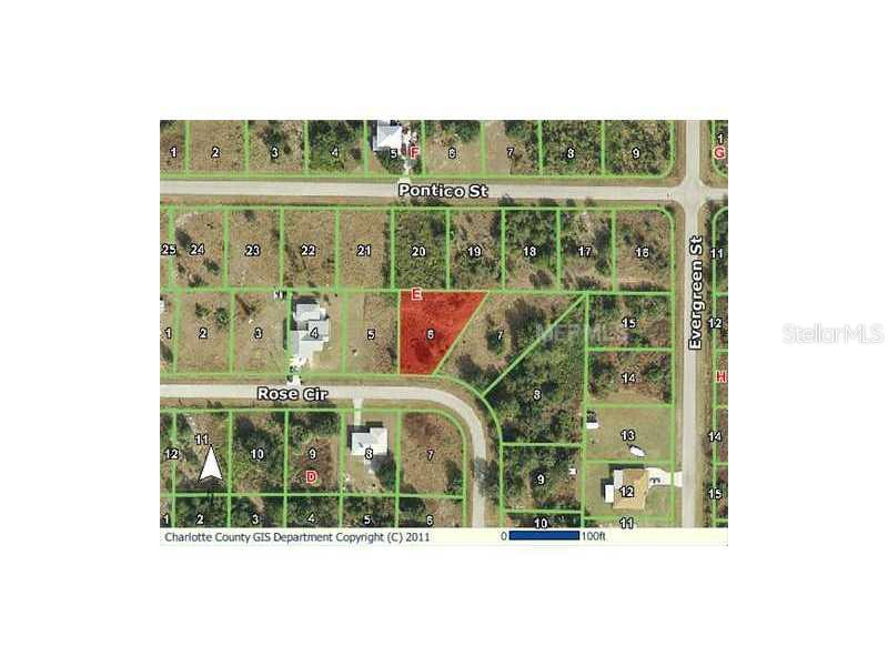 Exterior Front - Vacant Land for sale at 208 Rose Cir, Punta Gorda, FL 33982 - MLS Number is D5791521