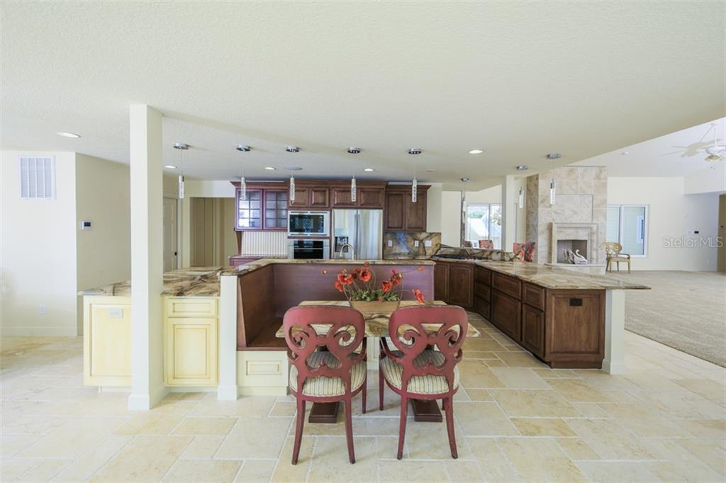 Banquet Seating - Single Family Home for sale at 7295 Manasota Key Rd, Englewood, FL 34223 - MLS Number is D5911936