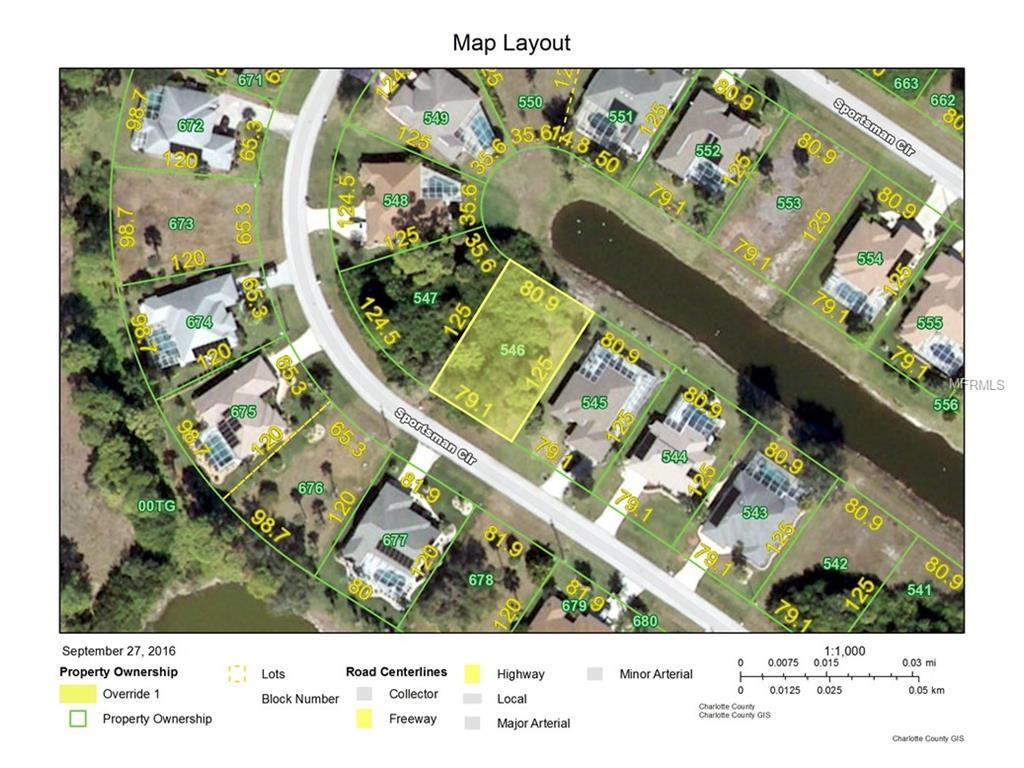 Vacant Land for sale at 27 Sportsman Cir, Rotonda West, FL 33947 - MLS Number is D5914115