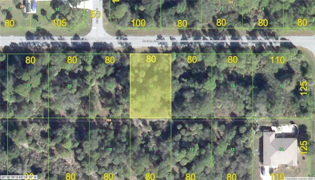 Vacant Land for sale at 18209 Poston Ave, Port Charlotte, FL 33948 - MLS Number is D5915993