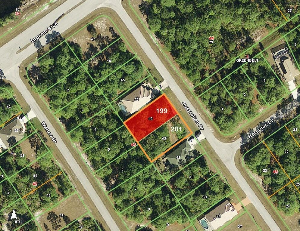 Vacant Land for sale at 199 Australian Dr, Rotonda West, FL 33947 - MLS Number is D5916466