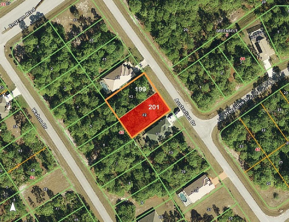Vacant Land for sale at 201 Australian Dr, Rotonda West, FL 33947 - MLS Number is D5916467