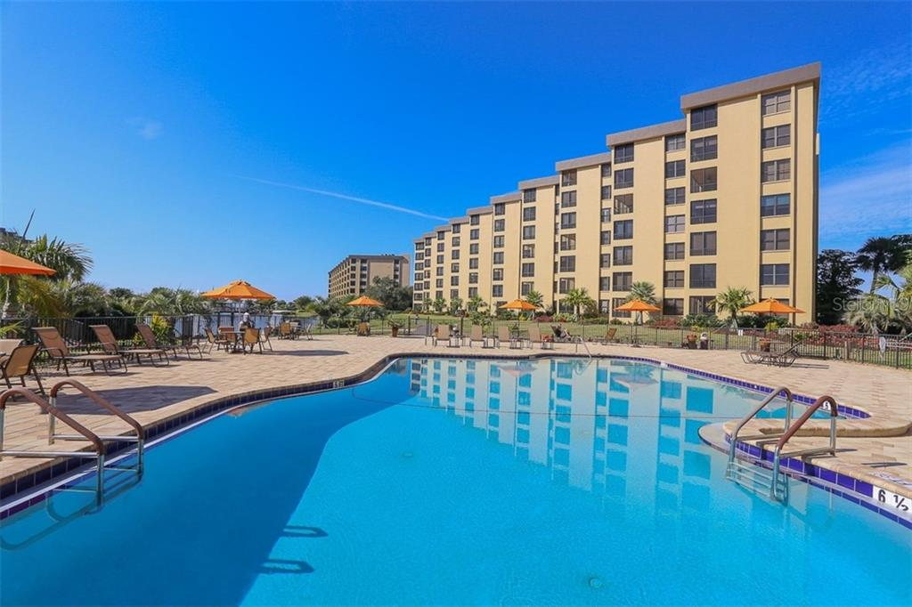 Second Pool Area - Condo for sale at 5760 Midnight Pass Rd #702, Sarasota, FL 34242 - MLS Number is D5916943