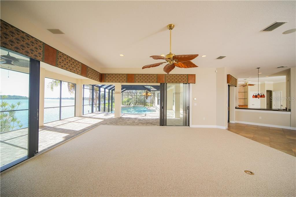 Family Room that completely opens to the Lanai. Great for Entertaining!! - Single Family Home for sale at 550 Coral Creek Dr, Placida, FL 33946 - MLS Number is D5917129