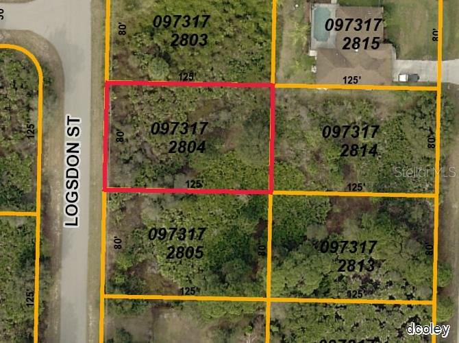 Property Disclosure - Vacant Land for sale at Logsdon St, North Port, FL 34287 - MLS Number is D5917360