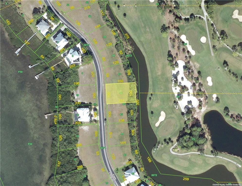 9980 Eagle Preserve Drive, Lot #2-46, is a 1/3 acre building lot with great views of the Lemon Bay Golf Course and a course pond. - Vacant Land for sale at 9980 Eagle Preserve Dr, Englewood, FL 34224 - MLS Number is D5917467