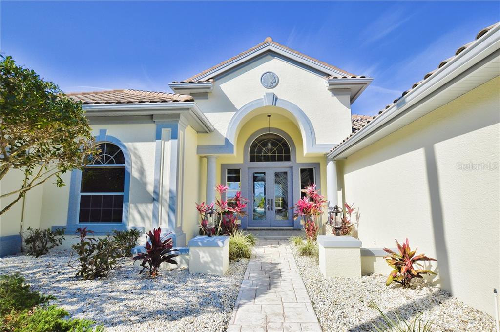 An Arthur Rutenberg Custom home completely remodeled with romantic elegance on two lots with frontage of 220 Feet on the Myakka River. This home features 4 ½ baths, 4 bedrooms-each having their own private bathroom and plenty of closet space. Sliding glass doors open from the formal living, family and master bedroom to the spacious lanai and pool area. This home has cathedral ceilings with crown molding, ceramic tiles and high grade laminate - Single Family Home for sale at 3121 Rivershore Ln, Port Charlotte, FL 33953 - MLS Number is D5917816