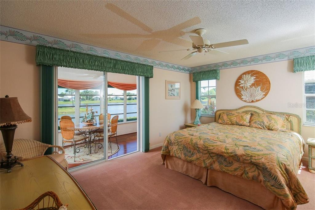 Master Bedroom - Single Family Home for sale at 1806 Ashley Dr, Venice, FL 34292 - MLS Number is D5918442
