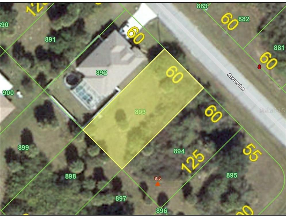 Vacant Land for sale at 111 Arrow Ln, Rotonda West, FL 33947 - MLS Number is D5918612