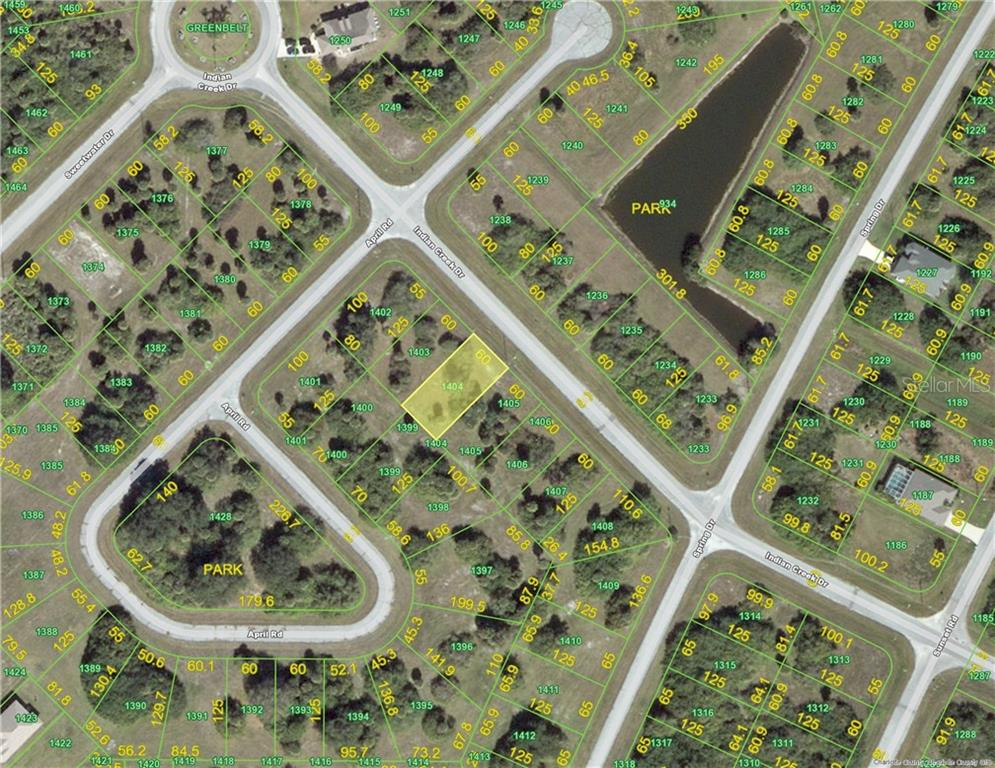 HOA - Vacant Land for sale at 127 Indian Creek Dr, Rotonda West, FL 33947 - MLS Number is D5918758
