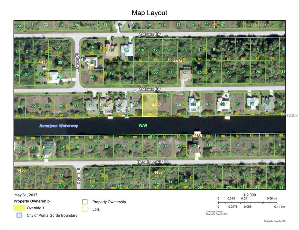 Vacant Land for sale at 15472 Aldama Cir, Port Charlotte, FL 33981 - MLS Number is D5918780