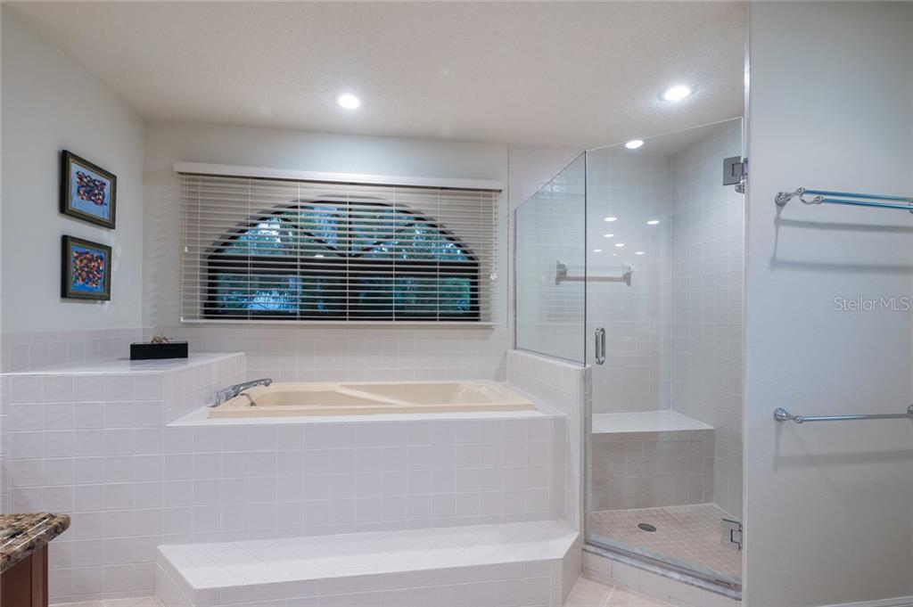 Master bath- whirlpool tub and shower - Single Family Home for sale at 260 Capstan Dr, Cape Haze, FL 33946 - MLS Number is D5919159