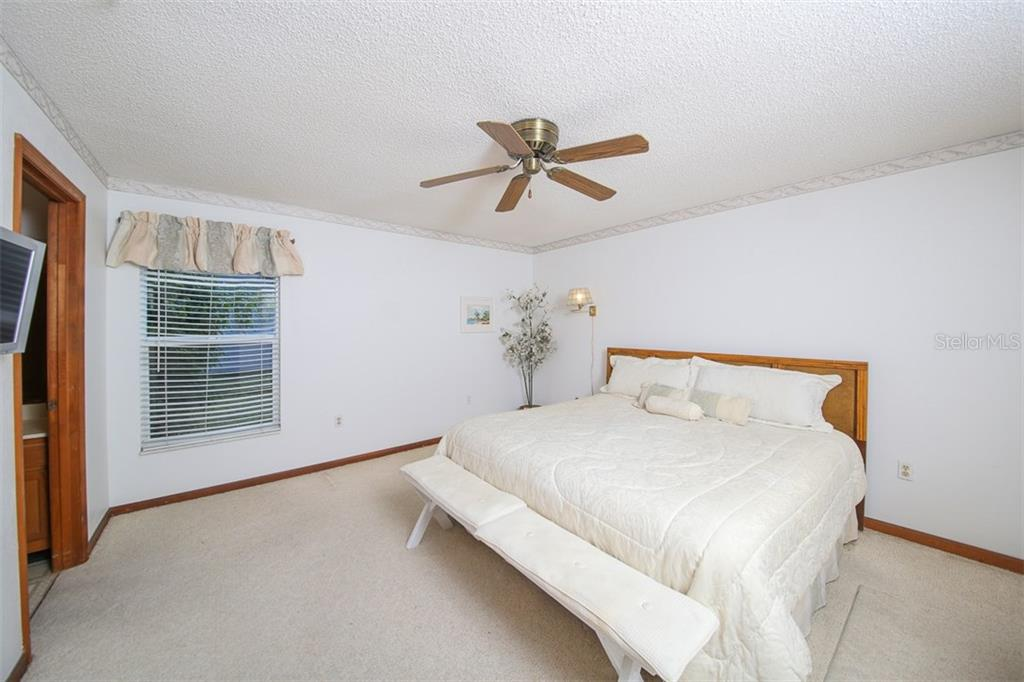 Master Bedroom - Single Family Home for sale at 317 Indian River Ln, Englewood, FL 34223 - MLS Number is D5919375