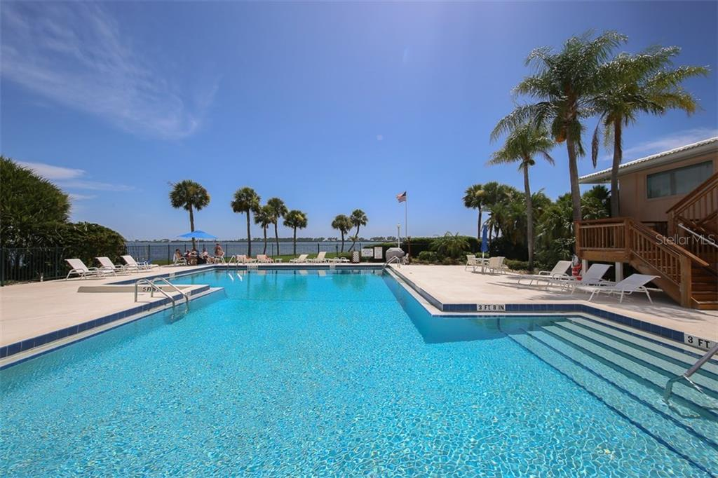 Main Pool with expansive Intracoastal views - Condo for sale at 11000 Placida Rd #2804, Placida, FL 33946 - MLS Number is D5920736