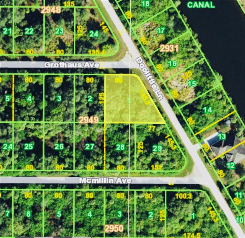 Vacant Land for sale at 14531 Grothaus Ave, Port Charlotte, FL 33953 - MLS Number is D5921170