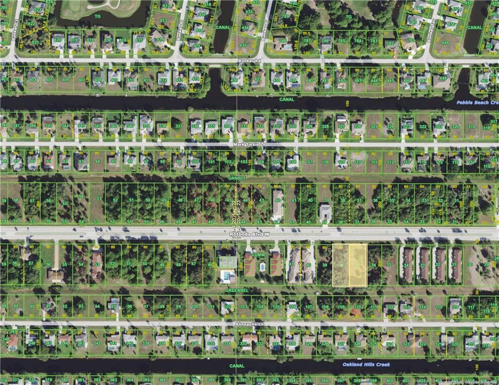 HOA - Vacant Land for sale at 219 Rotonda Blvd W, Rotonda West, FL 33947 - MLS Number is D5921607