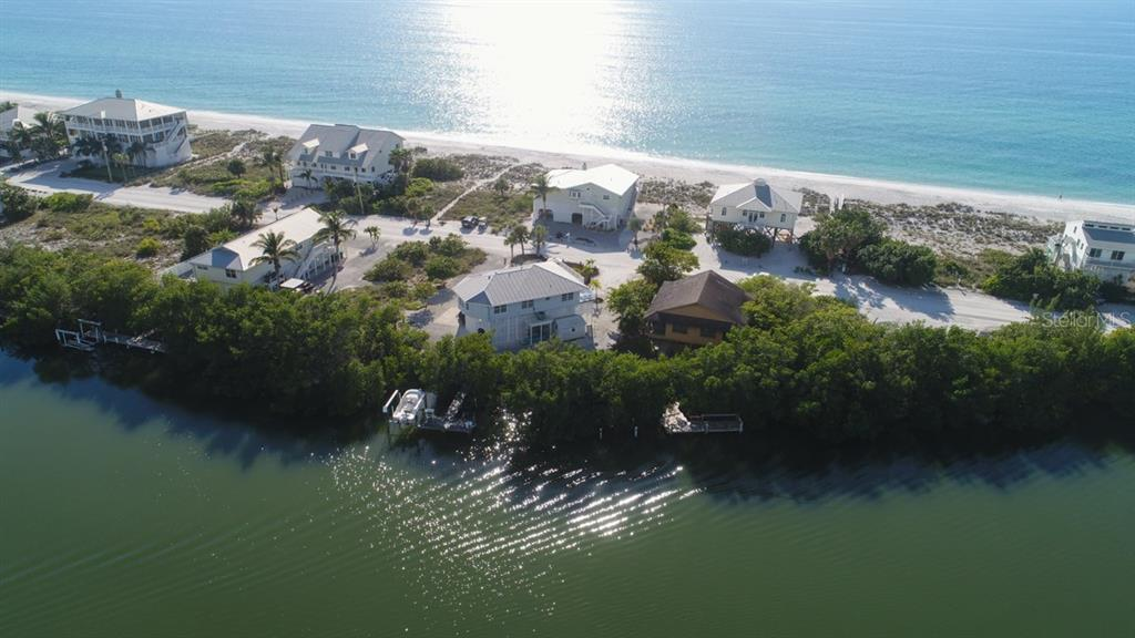 Lagoon & Gulf Aerial - Single Family Home for sale at 60 S Gulf Blvd, Placida, FL 33946 - MLS Number is D5921772