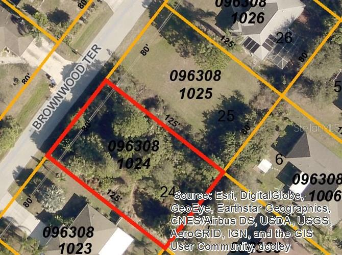 Vacant Land for sale at Brownwood Ter, North Port, FL 34286 - MLS Number is D5922309