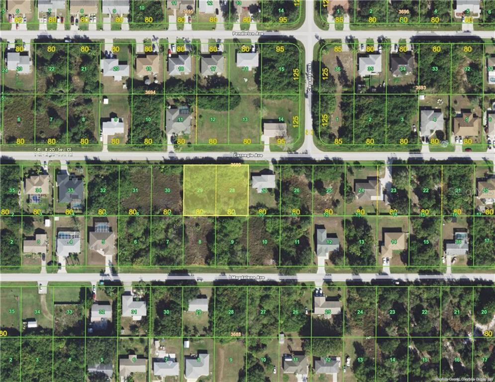 Vacant Land for sale at 11097 Carnegie Ave, Englewood, FL 34224 - MLS Number is D5922609