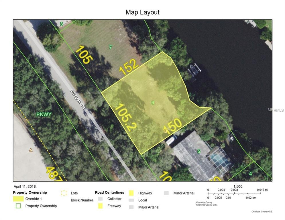 Vacant Land for sale at 4624 Pompano St, Placida, FL 33946 - MLS Number is D6100027