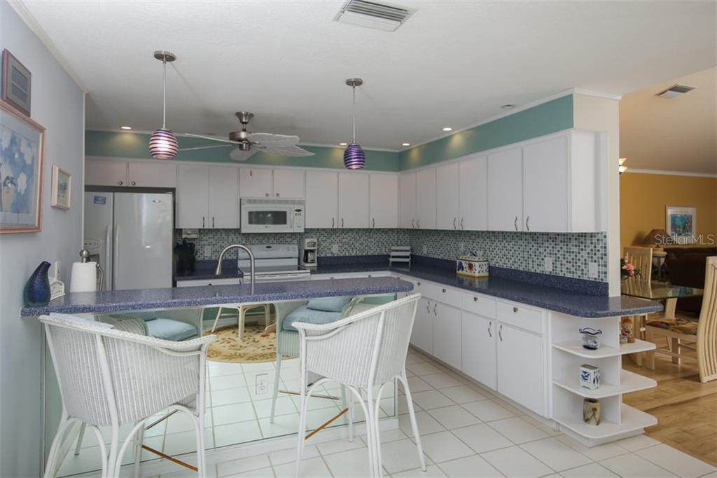 Kitchen Area - Single Family Home for sale at 222 Westwind Dr, Placida, FL 33946 - MLS Number is D6100545