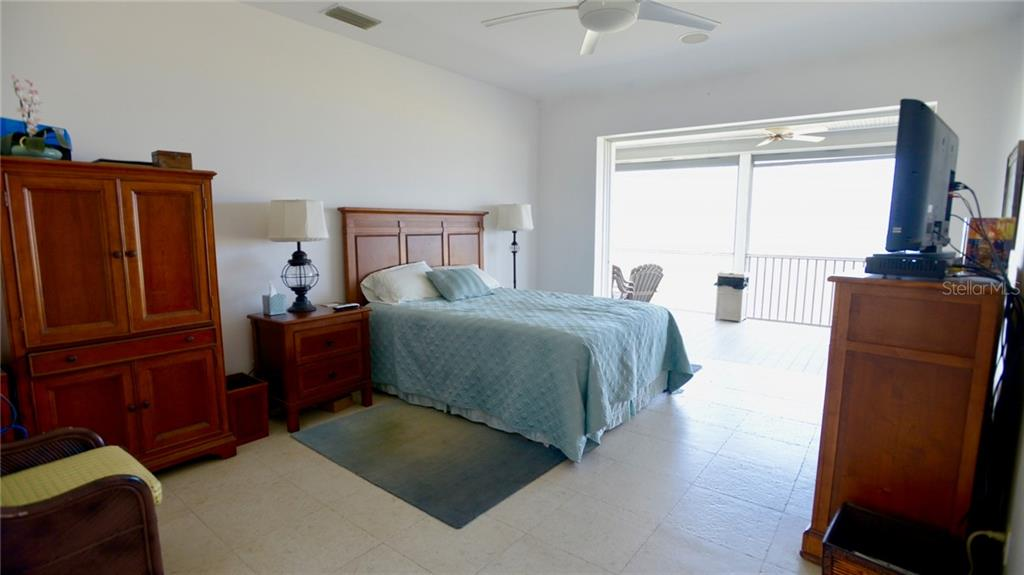 Enjoy this view directly off the master bedroom. - Single Family Home for sale at 9722 Little Gasparilla Is, Placida, FL 33946 - MLS Number is D6100685