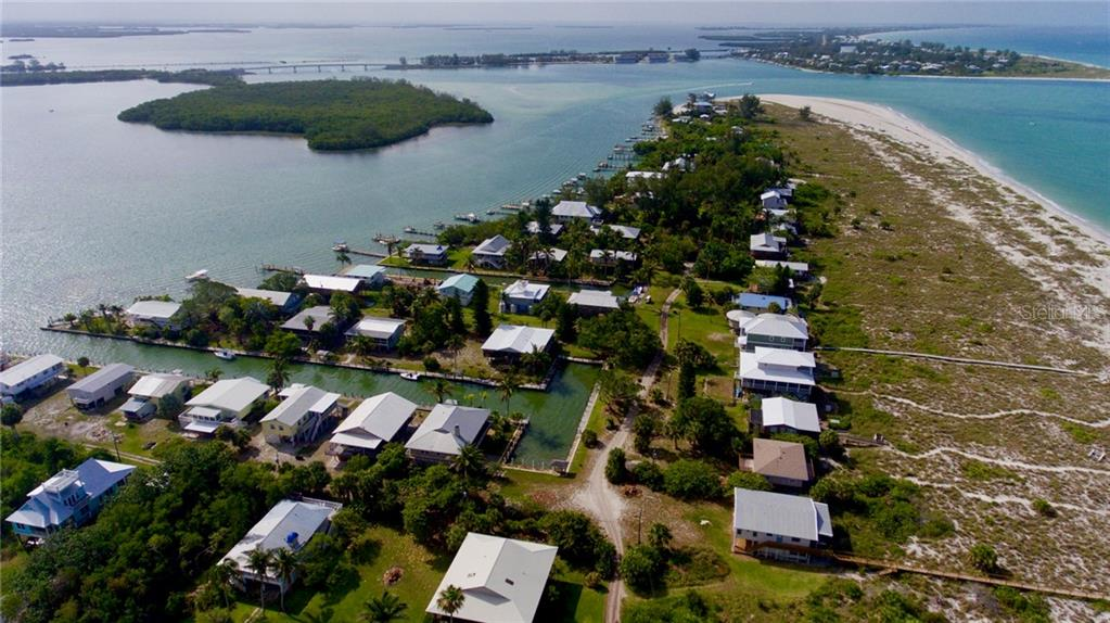 Gasparilla Pass and the Gulf of Mexico. - Single Family Home for sale at 9722 Little Gasparilla Is, Placida, FL 33946 - MLS Number is D6100685