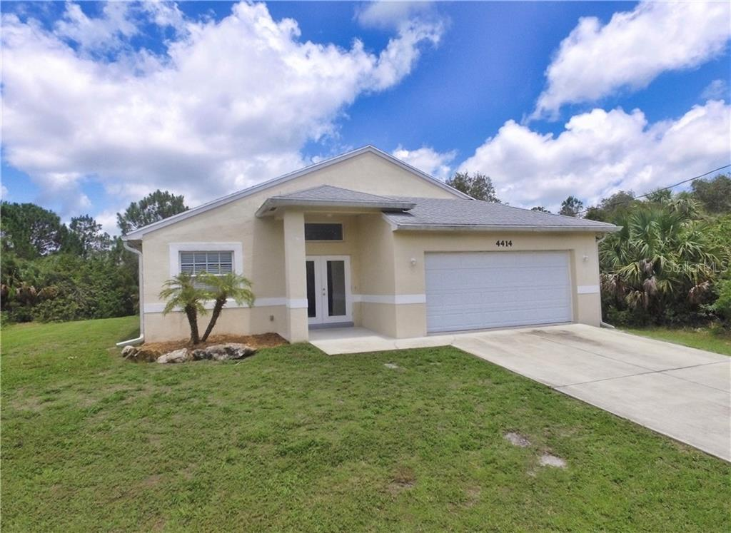 New Supplement - Single Family Home for sale at 4414 Callaway St, Port Charlotte, FL 33981 - MLS Number is D6100799