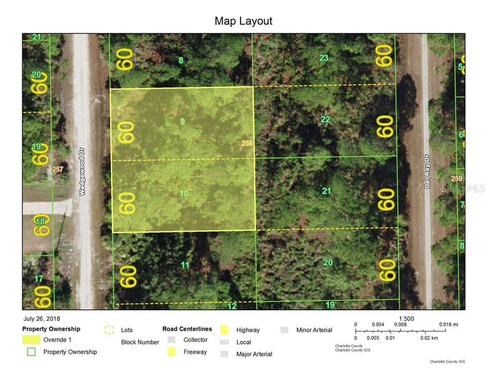 Vacant Land for sale at 13338 Wedgewood Dr, Punta Gorda, FL 33955 - MLS Number is D6101618