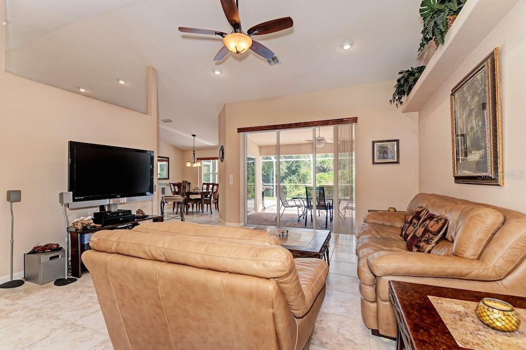View as you enter the home. - Single Family Home for sale at 7256 Holsum St, Englewood, FL 34224 - MLS Number is D6101787