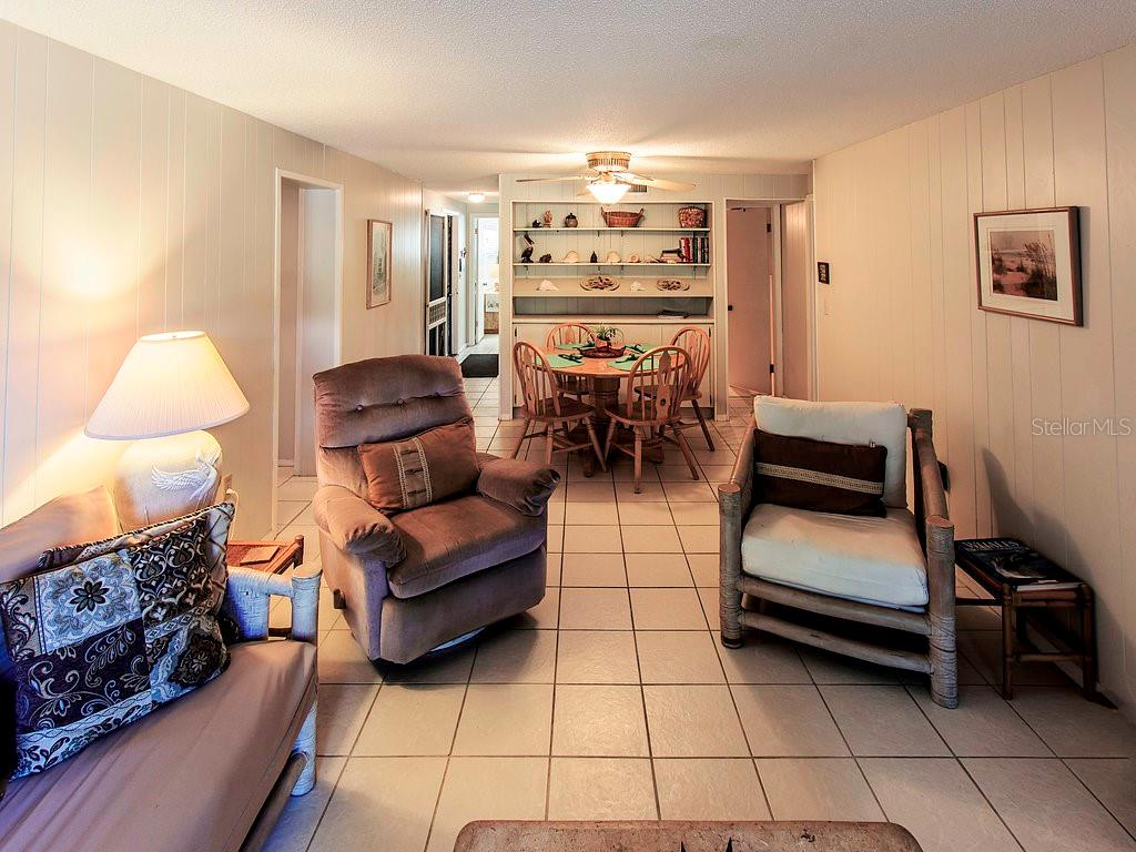 Living/Dining - Condo for sale at 2980 N Beach Rd #c2-4, Englewood, FL 34223 - MLS Number is D6101944