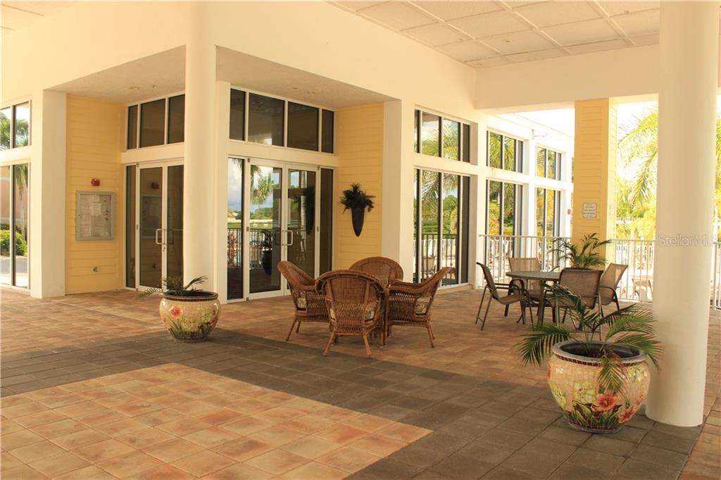 Club House with key entry. - Condo for sale at 8409 Placida Rd #403, Placida, FL 33946 - MLS Number is D6102047