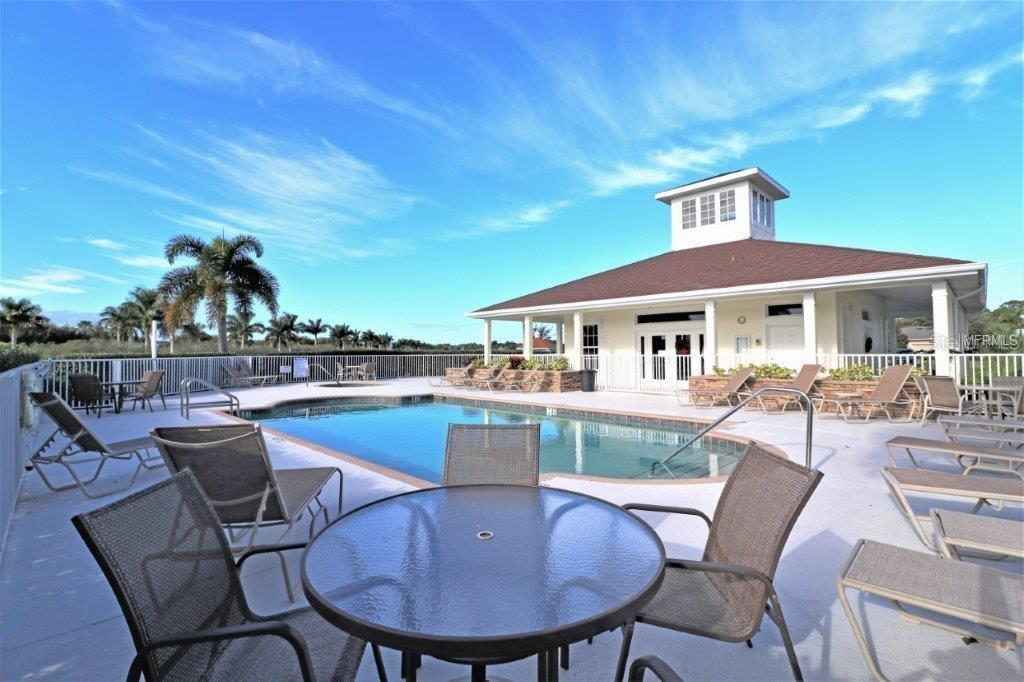 Enjoy the lakes with fountains throughout the community and a clubhouse with a heated pool and spa and gazebo provide a truly resort ambiance. - Villa for sale at 29704 Niagara Ct, Englewood, FL 34223 - MLS Number is D6102386