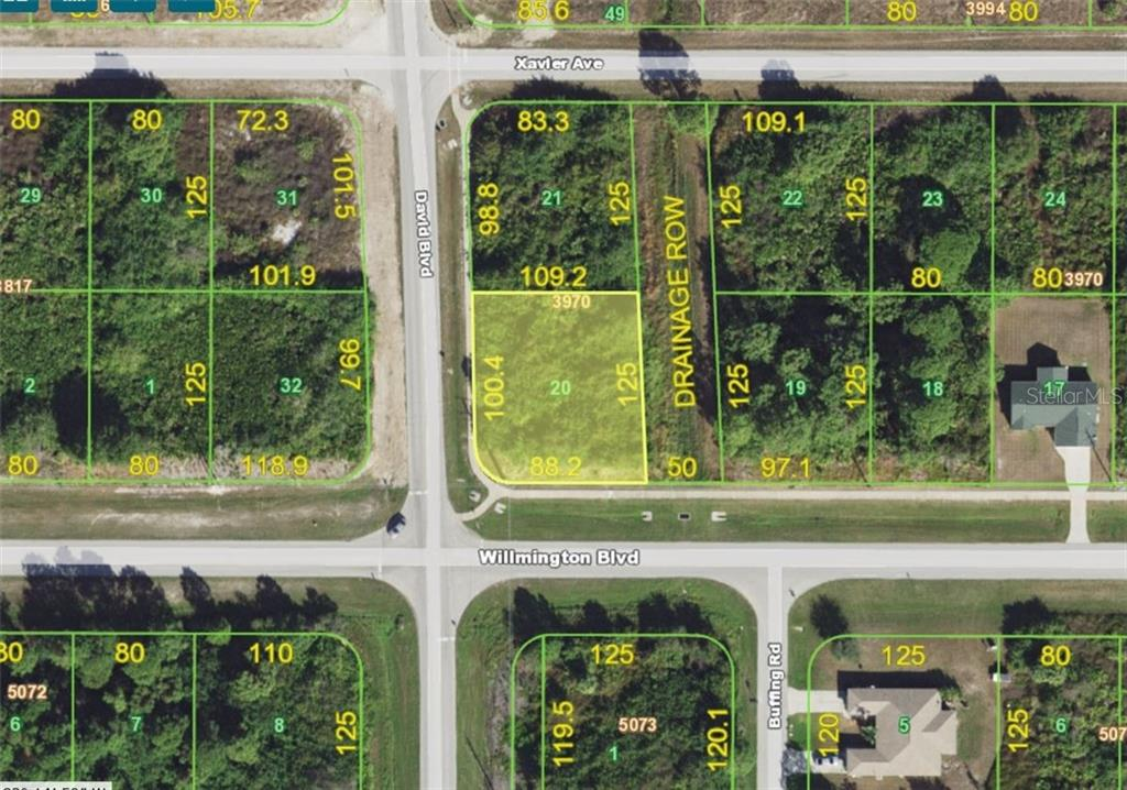 Vacant Land for sale at 12280 Willmington Blvd, Port Charlotte, FL 33981 - MLS Number is D6103379