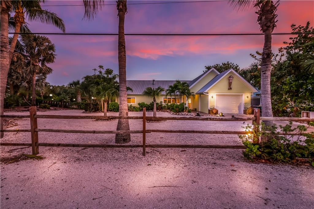 Home situated on 2 full lots - Single Family Home for sale at 101 N Gulf Blvd, Placida, FL 33946 - MLS Number is D6103476