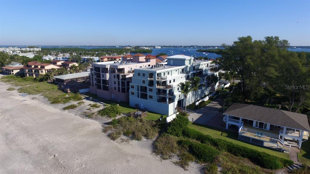 Beach View of Community - Condo for sale at 50 Meredith Dr #8, Englewood, FL 34223 - MLS Number is D6103644