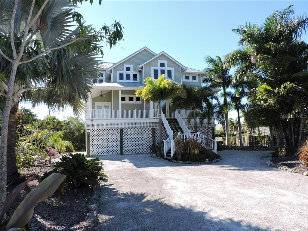 Front View of Home. - Single Family Home for sale at 111 Kettle Harbor Dr, Placida, FL 33946 - MLS Number is D6104218