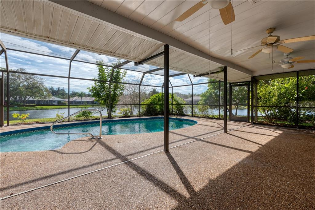 Oversized Lanai - Single Family Home for sale at 487 Dover Cir, Englewood, FL 34223 - MLS Number is D6104435