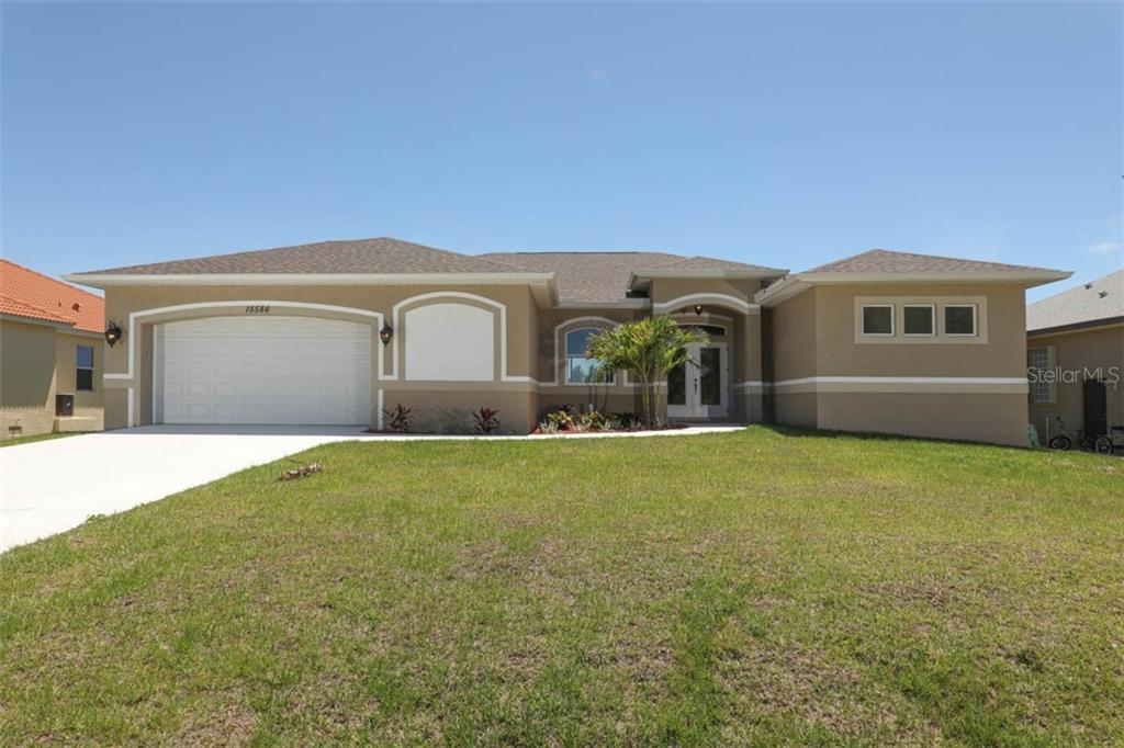 Brand new and beautiful, built with you in mind! - Single Family Home for sale at 15586 Seafoam Cir, Port Charlotte, FL 33981 - MLS Number is D6106527