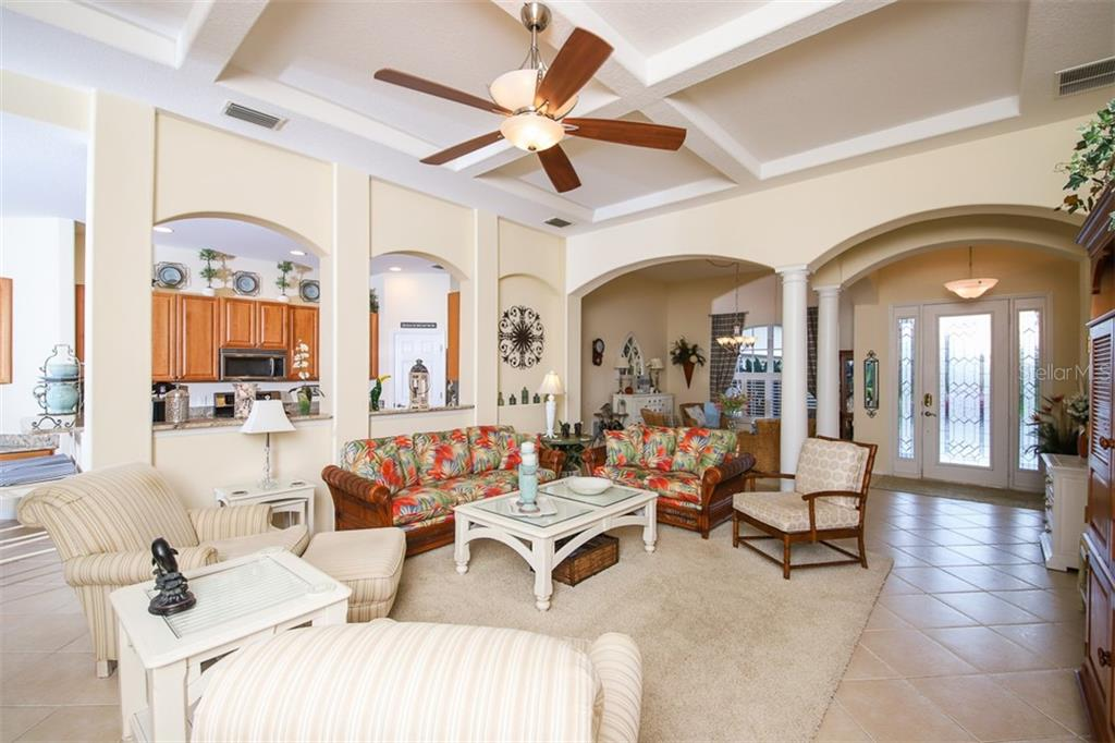GREAT ROOM - Single Family Home for sale at 2373 Silver Palm Rd, North Port, FL 34288 - MLS Number is D6107376