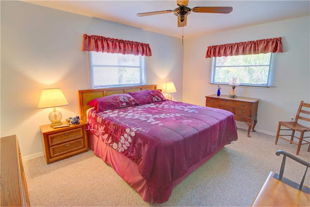 Master bedroom - Single Family Home for sale at 110 Wilhelm Dr, Englewood, FL 34223 - MLS Number is D6107778