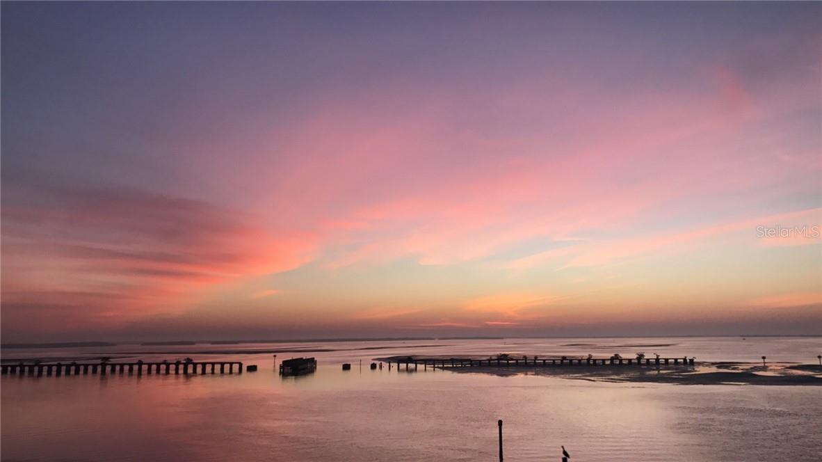 Sunrise over Charlotte Harbor - Single Family Home for sale at 5820 Gasparilla Rd #slip 21, Boca Grande, FL 33921 - MLS Number is D6107785