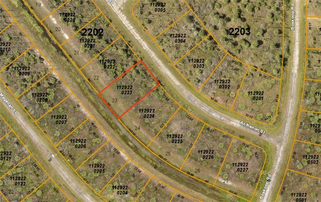 New Attachment - Vacant Land for sale at Anthenon St, North Port, FL 34288 - MLS Number is D6108227