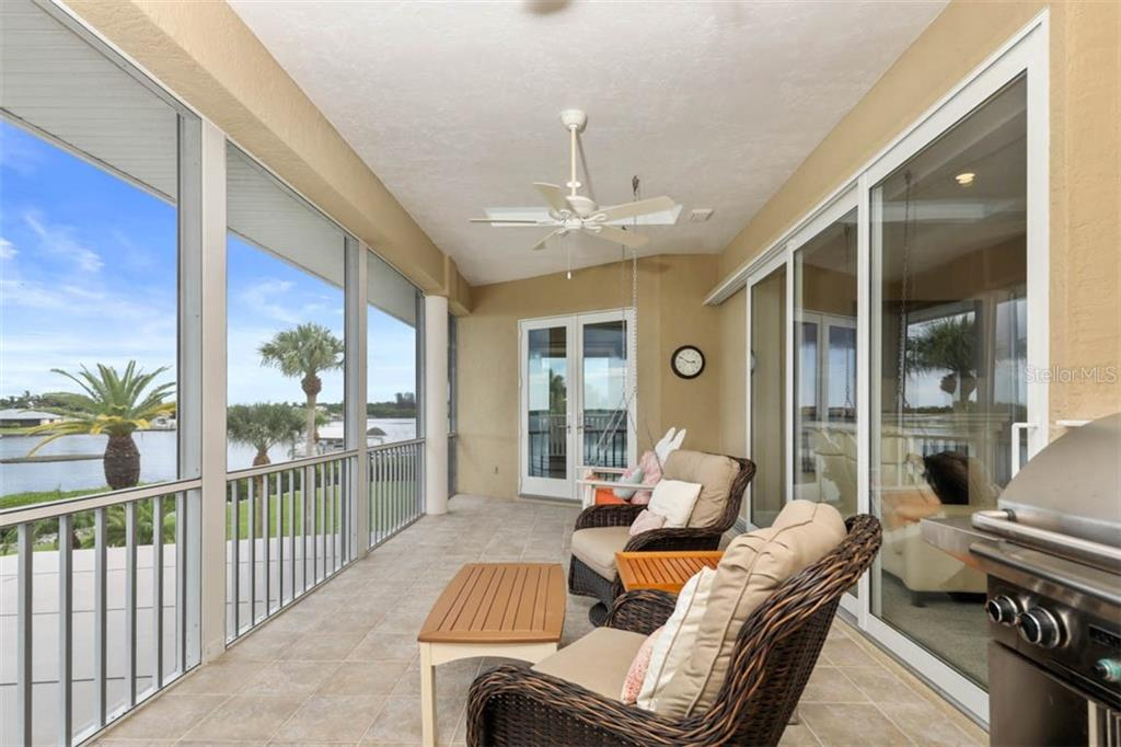 Second Floor Lanai - Single Family Home for sale at 1636 New Point Comfort Rd, Englewood, FL 34223 - MLS Number is D6108467