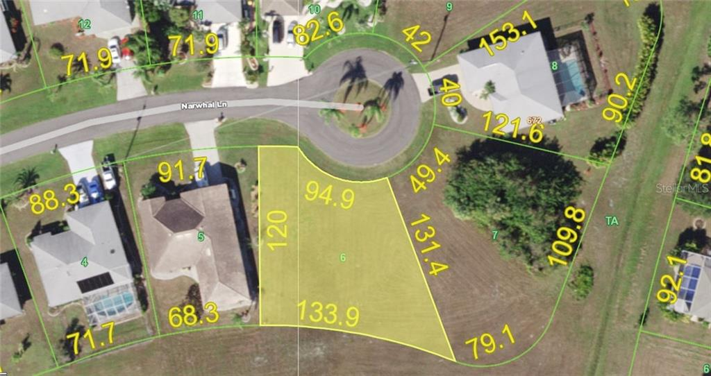 Vacant Land for sale at 25405 Narwhal Ln, Punta Gorda, FL 33983 - MLS Number is D6108882