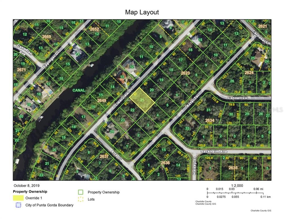 Vacant Land for sale at 1256 Clearview Dr, Port Charlotte, FL 33953 - MLS Number is D6108929