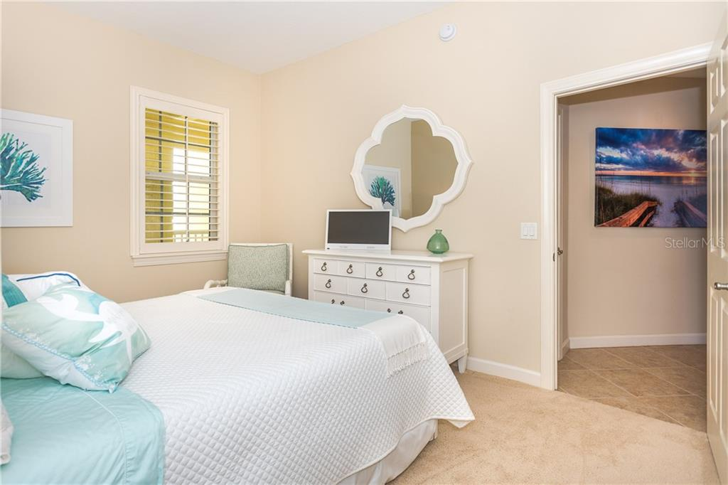2nd Bedroom has plenty of room for your guests - Condo for sale at 8561 Amberjack Cir #202, Englewood, FL 34224 - MLS Number is D6109771