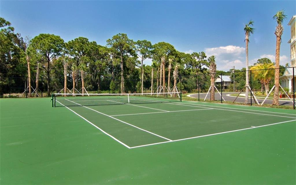 Tennis Courts are spectacular - Condo for sale at 8561 Amberjack Cir #202, Englewood, FL 34224 - MLS Number is D6109771