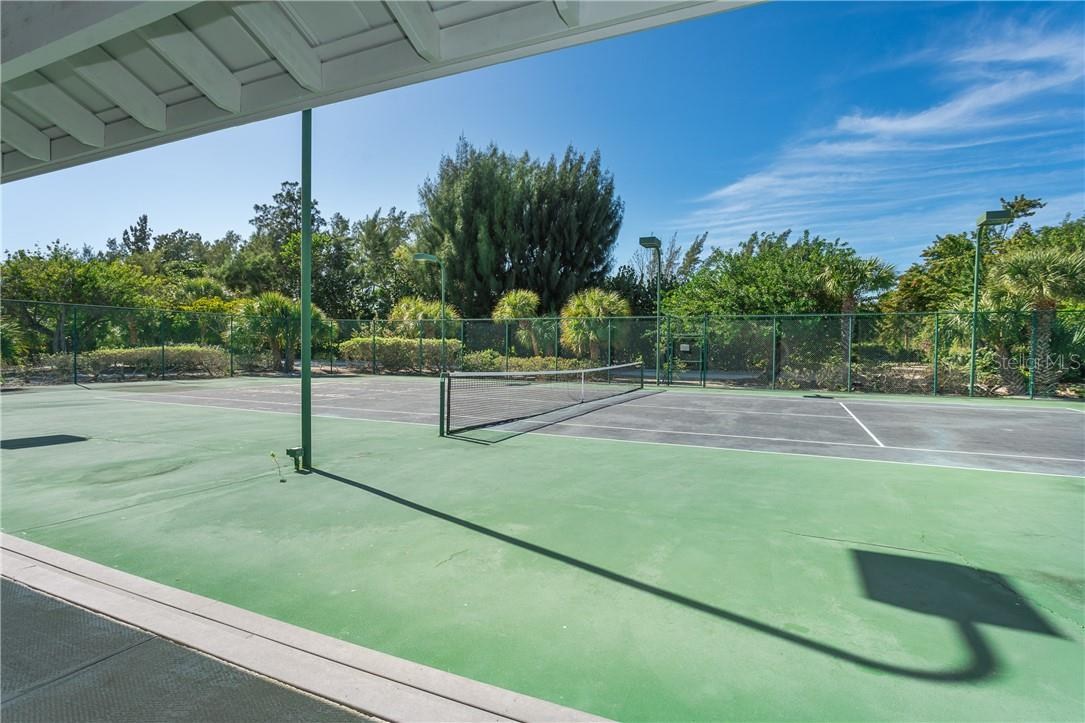 Community Tennis Court. - Single Family Home for sale at 5 Pointe Way, Placida, FL 33946 - MLS Number is D6110468