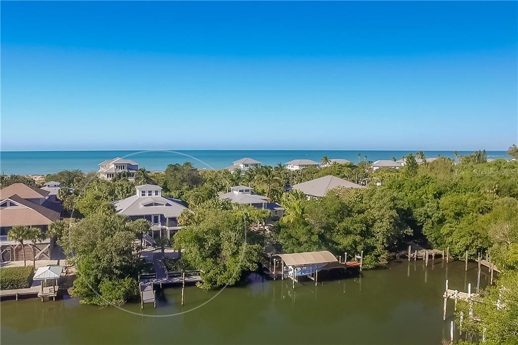 Aerial View of Home. - Single Family Home for sale at 540 N Gulf Blvd, Placida, FL 33946 - MLS Number is D6110801